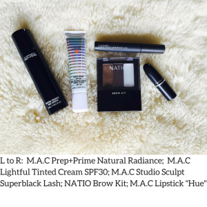 L to R- M.A.C Prep+Prime Natural Radiance;